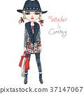 fashion girl cloth 37147067