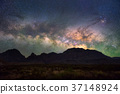 Milky way at Big Bend National Park 37148924