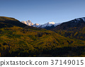 Fall color Capital Peaks, snowmass, Colorado 37149015
