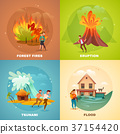Natural Disasters Design Concept 37154420