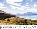 mountain, grass, field 37155724