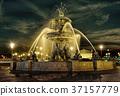 喷泉 建筑 雕像 37157779