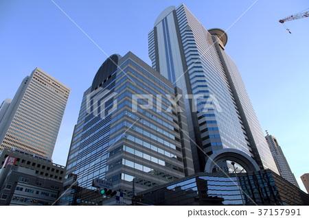 Tokyo Medical University Hospital Intersection - Stock Photo