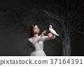 婚礼 新娘 白色 37164391