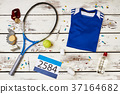 Tennis equipment, drugs and awards 37164682