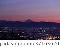 พระอาทิตย์ตก,ภูเขาฟูจิ,ภูเขาไฟฟูจิ 37165620