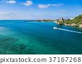 풍경, 바다, 배 37167268