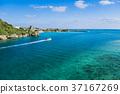 풍경, 바다, 배 37167269