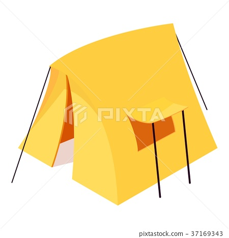 Little tent icon, isometric 3d style 37169343