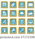 seo, icons, vector 37172398