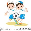 축구 경기 37176336