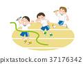接力赛 儿童 孩子 37176342