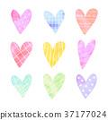 心 手绘 变体 37177024