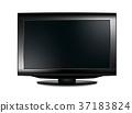 lcd tv realistic vector illustration 37183824