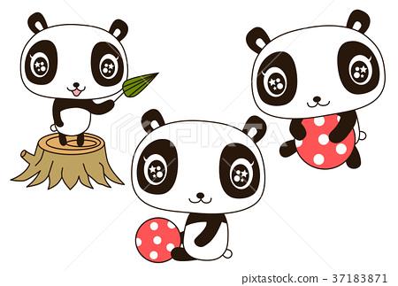 熊猫 动物 婴儿 37183871