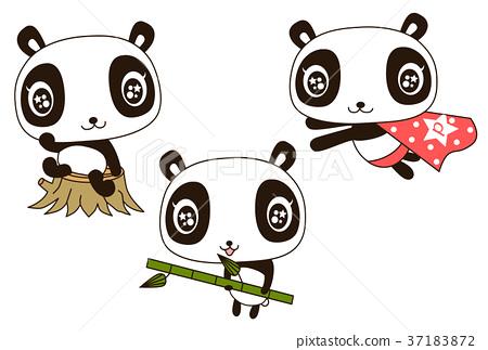 熊猫 动物 婴儿 37183872