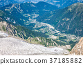 Bossons Glacier from the summit of the Aiguille  37185882