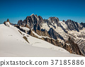 Mont Blanc massif,in the Chamonix mont blanc 37185886