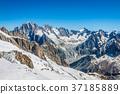 Mont Blanc massif,in the Chamonix mont blanc 37185889