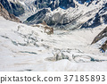 Mer de Glace (Sea of Ice) is a glacier located  37185893