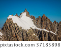 Mont Blanc massif in the French Alps,Chamonix  37185898