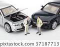 자동차,비즈니스맨,모형 37187713