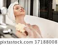 women skincare bathroom 37188008