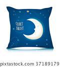pillow, cushion, sleep 37189179