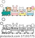 기차 동물 37193775