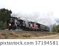 蒸汽機車 火車 列車 37194581