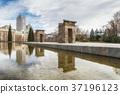 Debod temple in Madrid, Spain 37196123