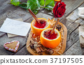 Festive composition for Valentine' s day  37197505