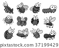 昆虫 卡通 设计 37199429