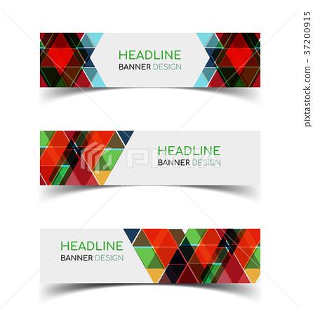 Horizontal Banner set 2 37200915