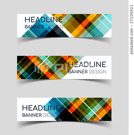 Horizontal Banner set 5 37200921