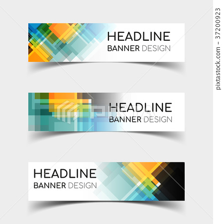 Horizontal Banner set 6 37200923