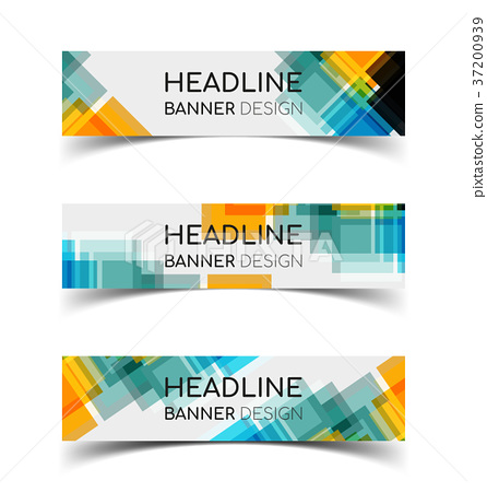 Horizontal Banner set 7 37200939