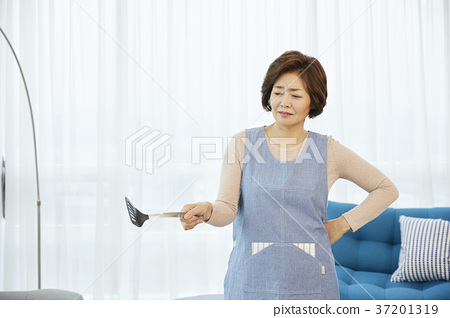중년,엄마,주부,생활,한국인 37201319