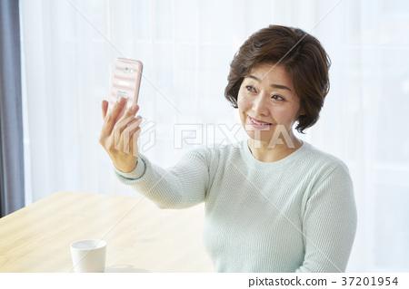 중년,엄마,주부,생활,한국인 37201954