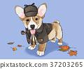 illustration of Pet - cute bulldog, Chihuahua, poodle, Maltese and etc.009 37203265