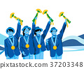 illustration of member of the national team for winter olympics, medalists and athlete 008 37203348