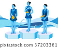 illustration of member of the national team for winter olympics, medalists and athlete 001 37203361