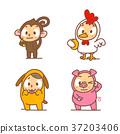 Chinese zodiac illustration 003 37203406