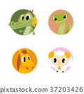 Chinese zodiac illustration 008 37203426