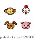 Chinese zodiac illustration 006 37203431