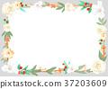 flower frame 008 37203609
