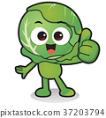 cartoon vegetables 089 37203794