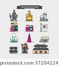 icon Korea palace 37204224