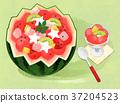 Korean food illustration 012 37204523