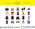 line icon set 012 37204599